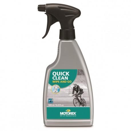 MOTOREX QUICK CLEAN NETTOYANT POUR CYCLE 500 ML